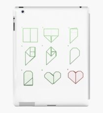 Origami Heart Folding iPad Case/Skin