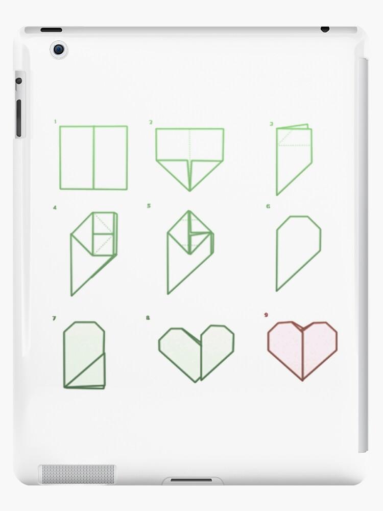 Astonishing Origami Heart Folding Ipad Cases Skins By Everydayisokayy Redbubble Wiring 101 Photwellnesstrialsorg