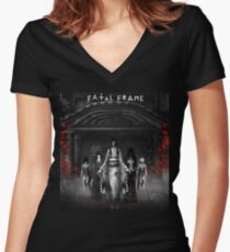 Fatal Frame Women's Fitted V-Neck T-Shirt