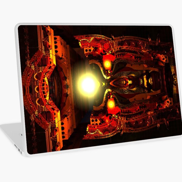 Mind Chamber by Spaced Painter Laptop Skin