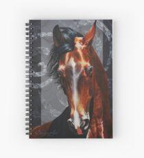WHISPERING WIND by Skyzune ART Spiral Notebook