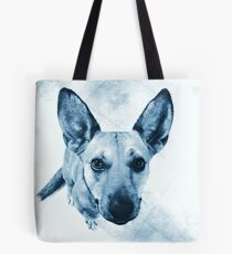 Carolina Blue Pup Tote Bag