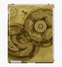 ©DA Fractal In Wood iPad Case/Skin
