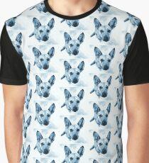Carolina Blue Pup Graphic T-Shirt