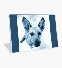 Carolina Blue Pup Laptop Skin
