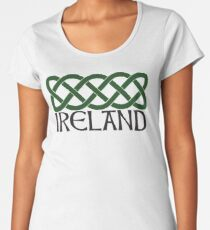 Ireland Celtic Knot Women's Premium T-Shirt