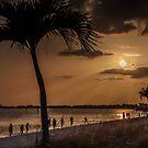 Beach Day at Cape Coral by John  Kapusta