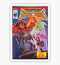 Battle Tribes - Return of the Demon Sticker