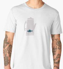 Fish in the Percolator  Men's Premium T-Shirt