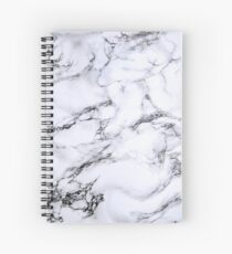 Aesthetic marble  Spiral Notebook