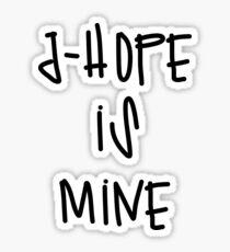 jhope is mine Sticker