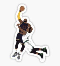 LeBron James Over Isaiah Thomas Sticker