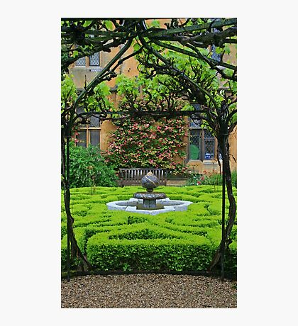 Sudeley Castle Gardens Photographic Print