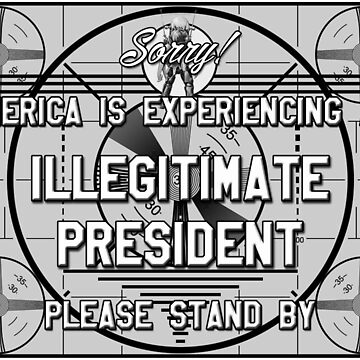Sorry! America is experiencing an Illegitimate President by Thelittlelord