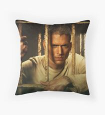 Michael Scofield Throw Pillow