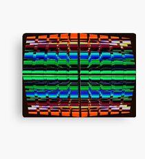 The Multi Colored Grid! Canvas Print