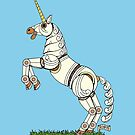 Mechanical Unicorn by Richard Fay