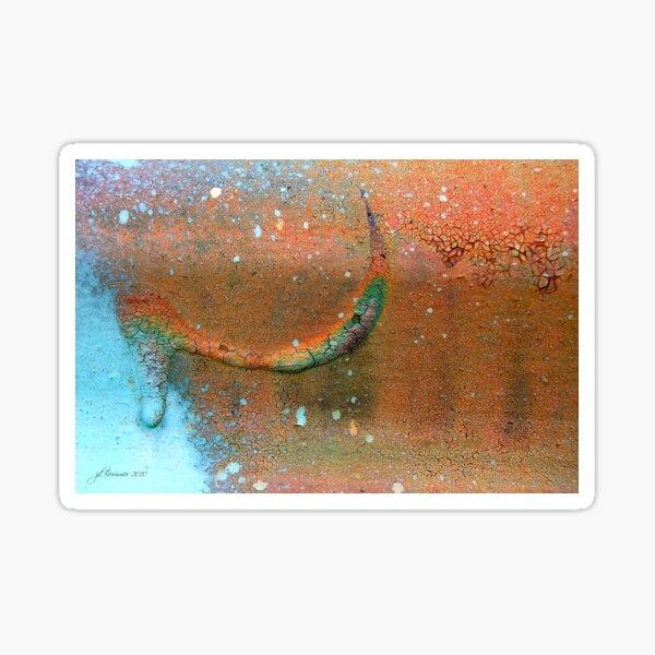 Drip-Dried Sticker