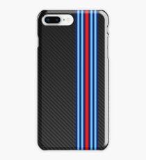 Carbon racing stripes iPhone 8 Plus Case
