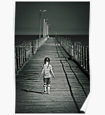 Lonely Jetty Poster