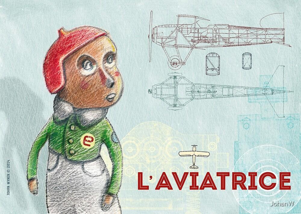 L'Aviatrice by JohanW