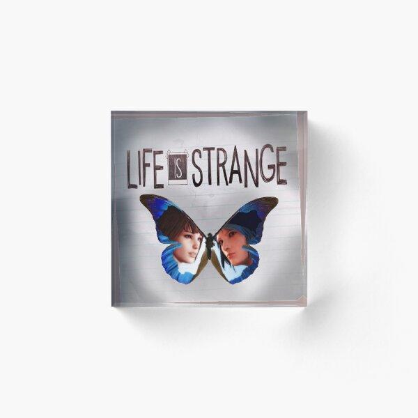 Life is Strange Butterfly Fan Art Acrylic Block