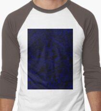 Dark blue pixels Men's Baseball ¾ T-Shirt