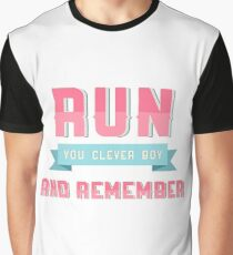 Clara Oswald Quote Graphic T-Shirt