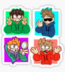 all the boys Sticker