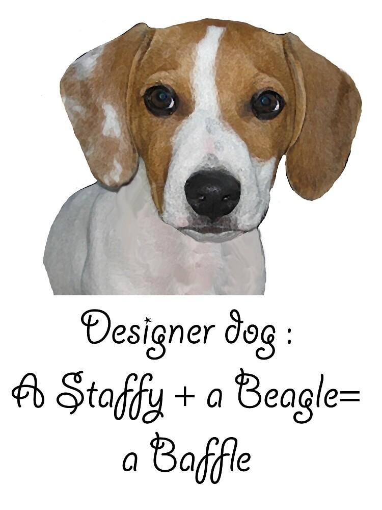 Designer dog by IowaArtist