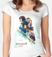 Sense8 Women's Fitted Scoop T-Shirt