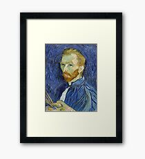 Self Portrait of Vincent Van Gogh Framed Print