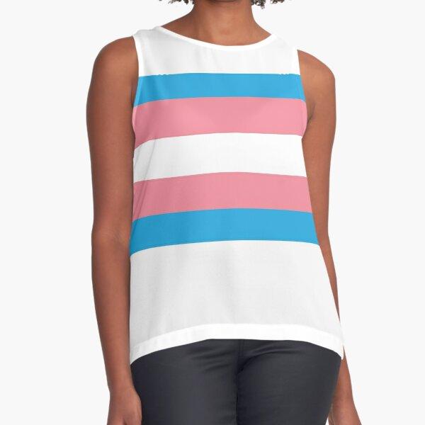 Trans Pride Flag Sleeveless Top
