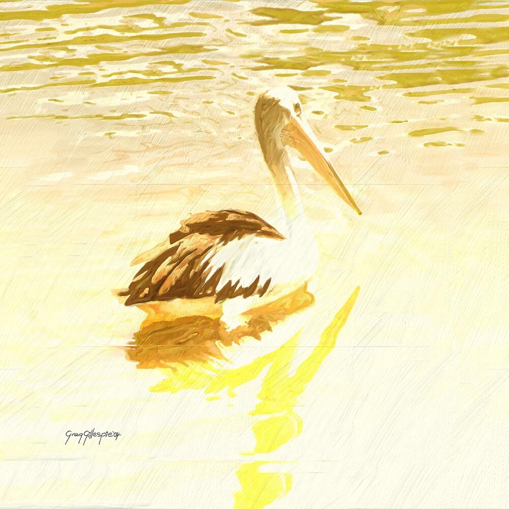 Pelican Eight by Greg Gillespie