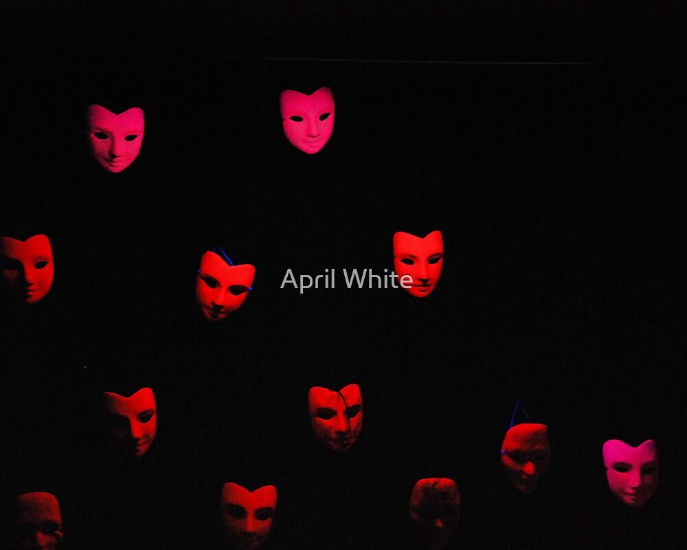 Many Masks by April White