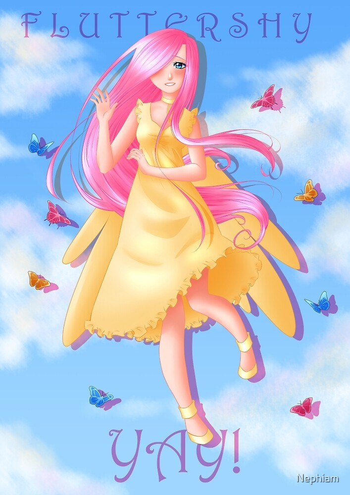 My Little Pony - Fluttershy by Nephiam