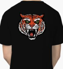 ORANGE TIGER (BACK) Classic T-Shirt