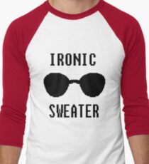 Ironic Sweater Men's Baseball ¾ T-Shirt