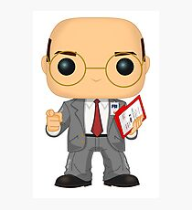 Skinner Funko Pop! Illustration Photographic Print