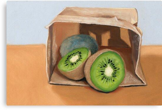 kiwi fruit by ria hills