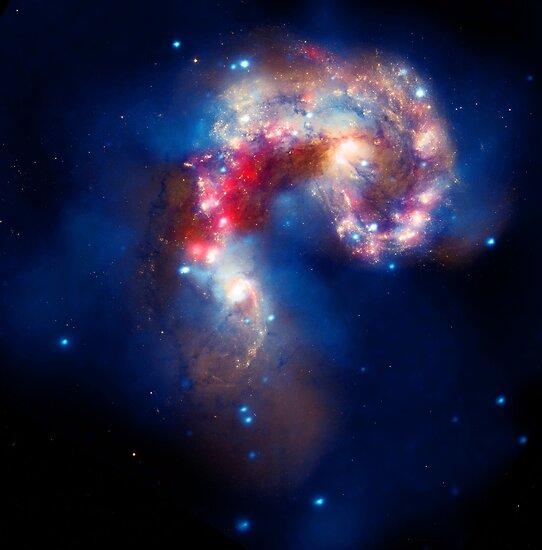 Die Antennen-Galaxien von bobbooo