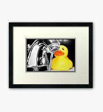 Rubber Ducky Framed Print