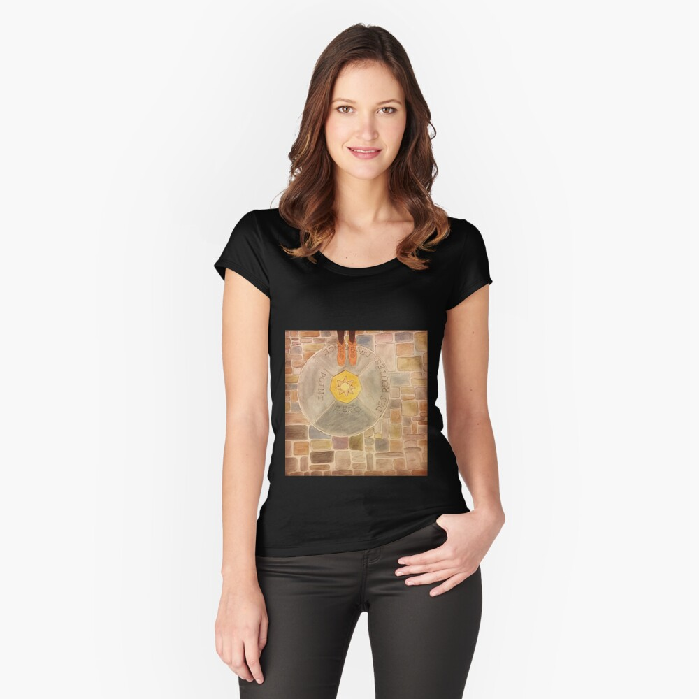 Point Zero Women's Fitted Scoop T-Shirt Front