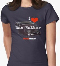 I heart dan #factsMatter Women's Fitted T-Shirt