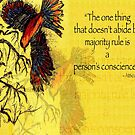 To Kill A Mockingbird Quote - Atticus Finch by Aarathi Somarajan