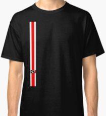 N7 w/ White & Red Stripe Classic T-Shirt