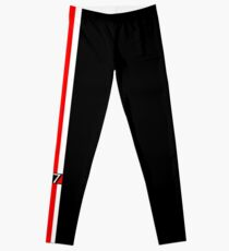N7 w/ White & Red Stripe Leggings
