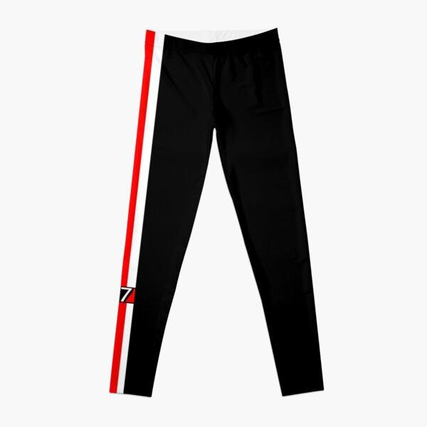 N7 w/ White & Red Stripe Leggings