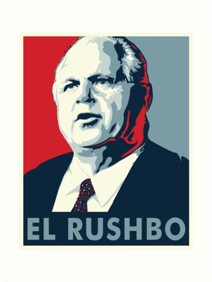 El Rushbo by rightposters