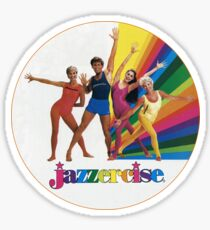 Jazzercise Sticker